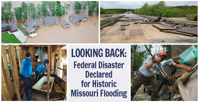 Looking Back: Federal Disaster Declared for Historic Missouri Flooding