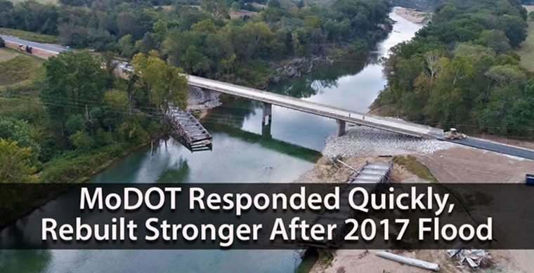 MoDOT Responded Quickly, Rebuilt Stronger After 2017 Flood