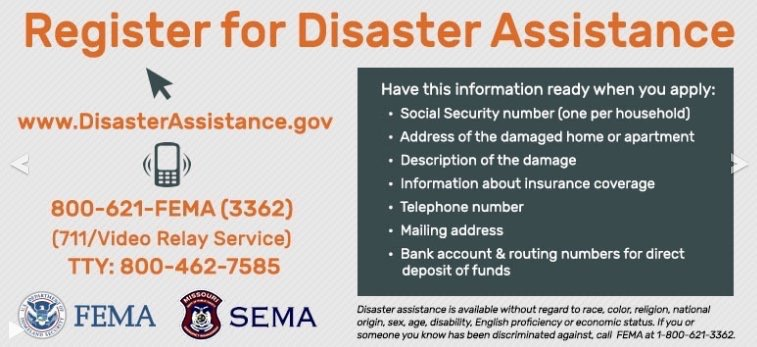 Request Disaster Assistance