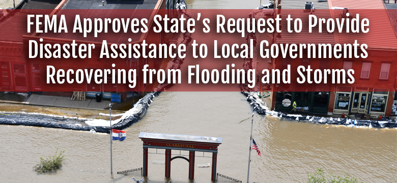 FEMA Approves State's Request to Provide Disaster Assistance