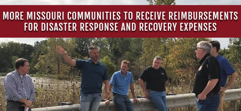FEMA Approves State's Request to Add 14 Additional Counties and City of St. Louis to Disaster Declaration; More Missouri Communities to Receive Reimbursements for Disaster Response and Recovery Expenses
