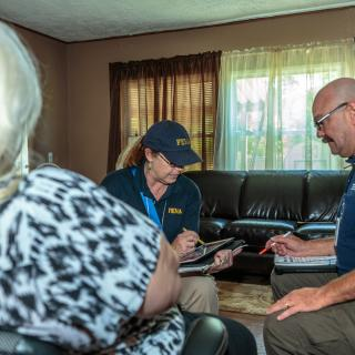 FEMA Disaster Survivor Assistance teams continue to go door-to-door