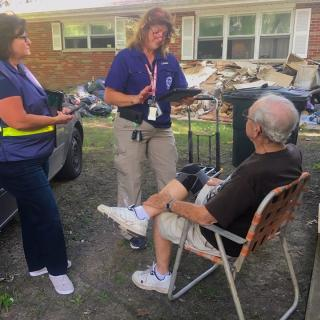 FEMA Disaster Recovery Assistance Teams go door-to-door